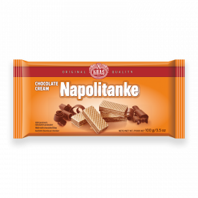 Napolitanke chocolate cream 100g