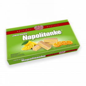 Napolitanke lemon orange 330g