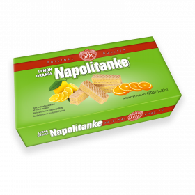 Napolitanke lemon orange 420g