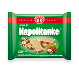 Napolitanke Hazelnut With No Added Sugars